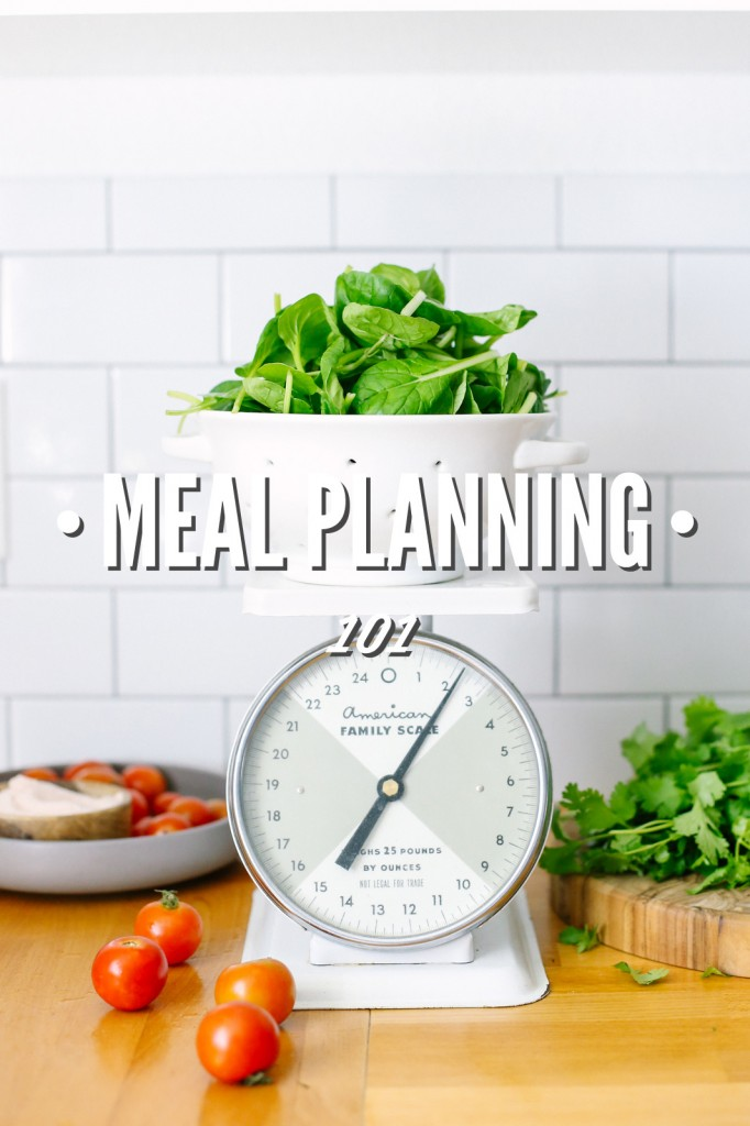 Meal Planning 101.